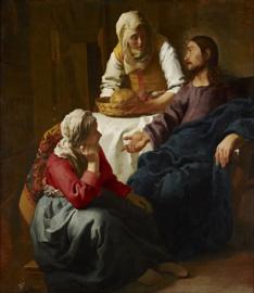 Vermeer, Christus bij Maria en Martha