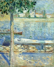 Munch, The seine at Saint-Cloud