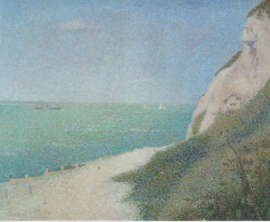 Seurat, Het strand 'Le Bas Butin' bij Honfleur