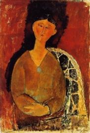 Modigliani, Beatrice zittend