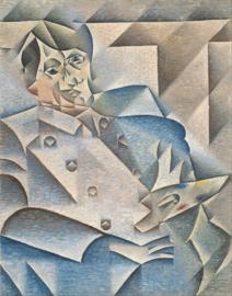 Gris, Portret van Pablo Picasso