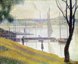 Seurat, De brug van Courbevoie