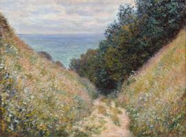 Monet, Grotweg in Pourville