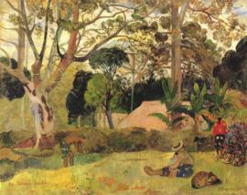 Gauguin, Te raau rahi 3 (De grote boom)
