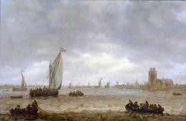 Van Goyen, Monding van de Maas