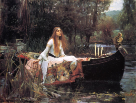 Waterhouse, The Lady of Shalott
