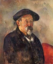 Cézanne, Zelfportret met baret