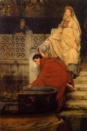 Alma-Tadema, Naar de boot