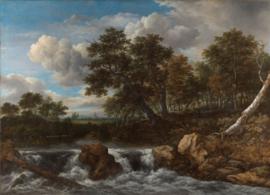 Van Ruisdael, Landschap met waterval