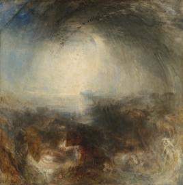 Turner, Schaduw en duisternis, de avond van de zondvloed