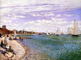 Monet, Regatta bij Sainte Adresse