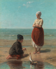 J. Israëls, Kinderen der zee 3