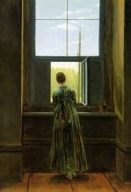 Friedrich, Vrouw bij het venster