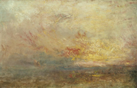 Turner, Wolken en water