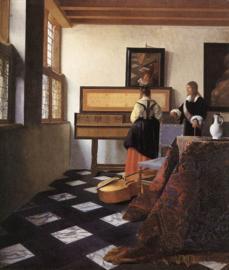 Vermeer, De muziekles