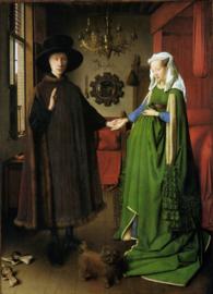 Van Eyck, Giovanni Arnolfini en zijn vrouw