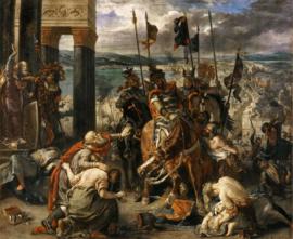 Delacroix, Inname van Constantinopel door de kruisvaarders