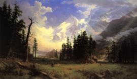 Bierstadt, De Morteratsch gletsjer