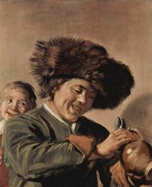 Hals, Twee lachende jongens