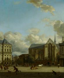 Van der Heyden, De Dam in Amsterdam