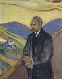 Munch, Portret van Friederich Nietzsche
