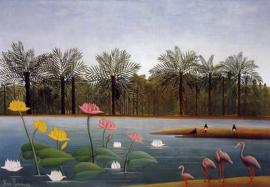 Rousseau, De flamingo's