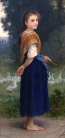 Bouguereau, Het ganzenmeisje