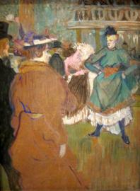 Toulouse-Lautrec, Quadrille in de Moulin Rouge