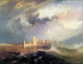Turner, Quillebeuf aan de monding van de Seine