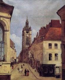 Corot, De klokketoren van Douai