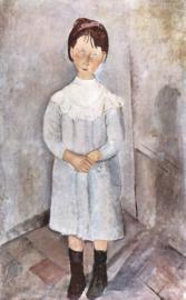 Modigliani, Meisje in blauw