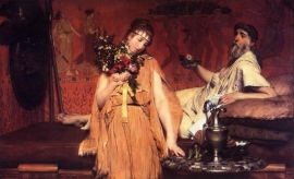 Alma-Tadema, Tussen hoop en vrees