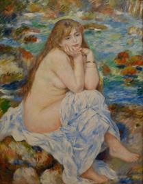 Renoir, Zittende baadster