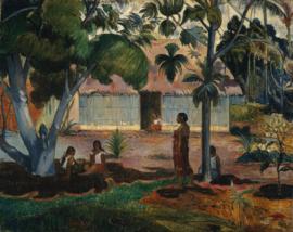 Gauguin, De grote boom