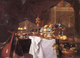 De Heem, Een tafel met desserts