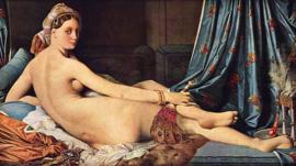 Ingres, De grote Odalisk