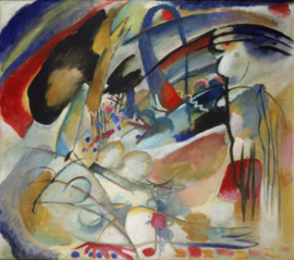 Kandinsky, Improvisatie 33 (Oriënt)