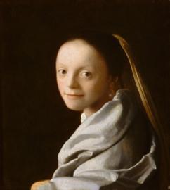 Vermeer, Portret van een jonge vrouw (meisjeskopje)