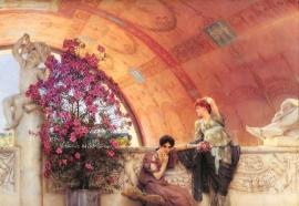 Alma-Tadema, Onbewuste rivalen