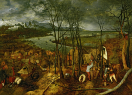 Bruegel, Sombere dag