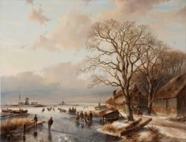 Schelfhout, Winterlandschap 3