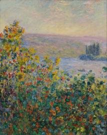 Monet, Bloembedden in Vetheuil