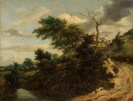 Van Ruisdael, Zandweg in de duinen