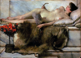 Alma-Tadema, Het tepidarium