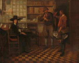 Van Brekelenkam, De pachtbetaling