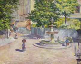 Caillebotte, Place Saint-Georges