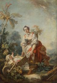 Fragonard, De vreugde van het moederschap
