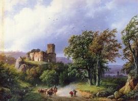 B.C. Koekkoek, De ruïne
