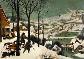 Bruegel, Jagers in de sneeuw