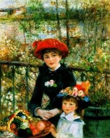 Renoir, Twee zusjes (op het terras)